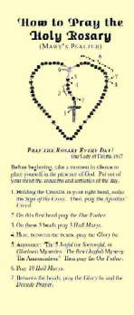 picture about How to Pray the Rosary Printable referred to as How in direction of pray the Rosary, prayers mysteries, down load totally free